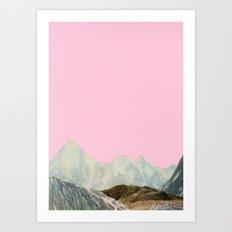 Silent Hills Art Print