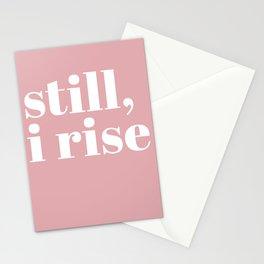 still I rise VIII Stationery Cards