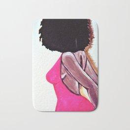 Afro chica... Bath Mat