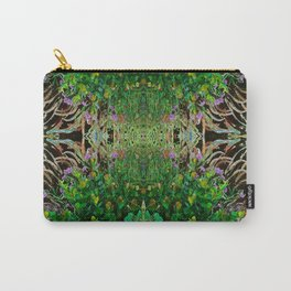 Cocoplum and Cattails op nature pattern Carry-All Pouch