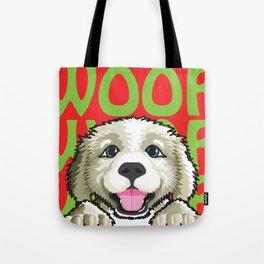 Gus The Dog Tote Bag