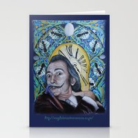 dali Stationery Cards featuring Dali  by Magdalena Almero