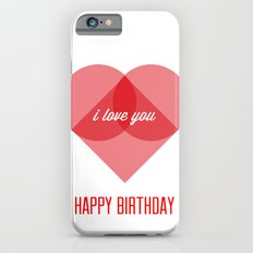 Birthday Wishes for My Dearest Friend Slim Case iPhone 6s