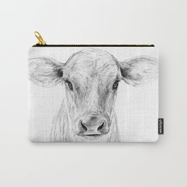 Moo ::  A Young Jersey Cow Carry-All Pouch