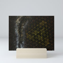 Galaxometry Mini Art Print