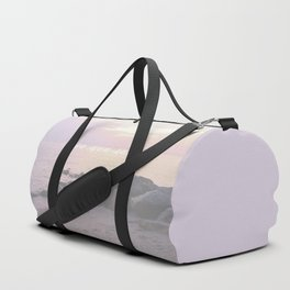 Sea You Soon Sunset Duffle Bag