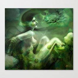 Aquatic Creature Canvas Print