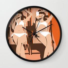 Summertime 2 Wall Clock