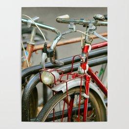 Bicycles of Paris Poster