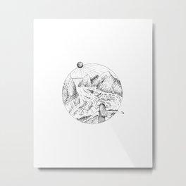Swept away Metal Print