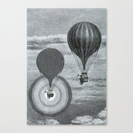 L'Atmosphère (Camille Flammarion) (1872) - A Balloon's Brocken Spectre Canvas Print