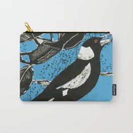 Australian Magpie Carry-All Pouch