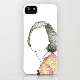 r. iPhone Case