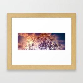 Wintry mood Framed Art Print