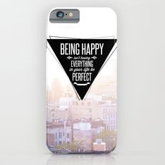 Being Happy Slim Case iPhone 6s