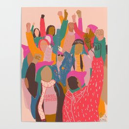 Womens march Poster