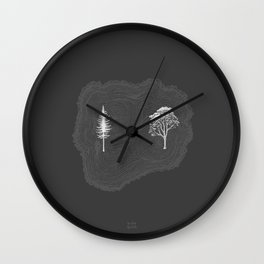 Pine & Eucalyptus Wall Clock