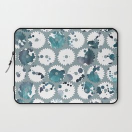 Saw blades Laptop Sleeve