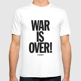War Is Over - If You Want It -  John Lenon & Yoko Ono Poster T-shirt