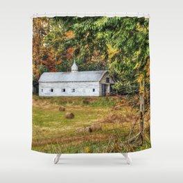 Fall Along 57 Shower Curtain