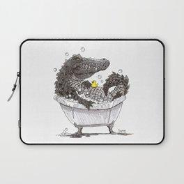 Bubble Bath (Pen & Ink) Laptop Sleeve