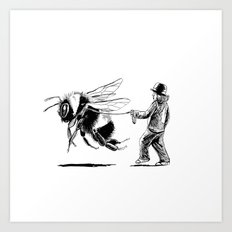 Bee Adventurous Art Print