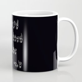 Language finger Coffee Mug