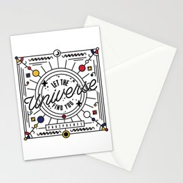 Let The Universe Find You Stationery Cards