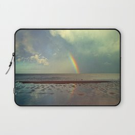 Rainbow Over Sea Laptop Sleeve