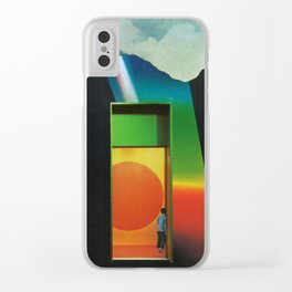 Synesthesia 2 Clear iPhone Case