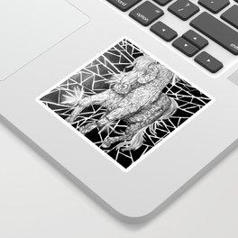 Diamond Horse Sticker