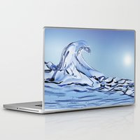 rogue Laptop & iPad Skins featuring Rogue Wave by John Early
