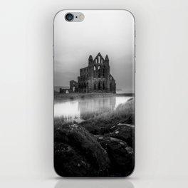 Gothic in Grey iPhone Skin