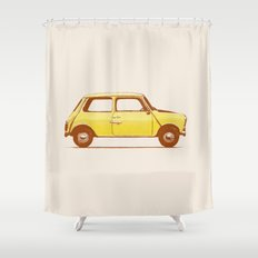 Famous Car #1 - Mini Cooper Shower Curtain