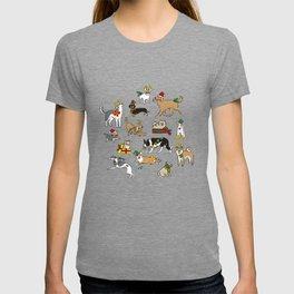 Christmas Dogs T-shirt