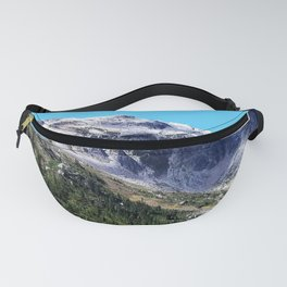 Tree line at the mountains Fanny Pack