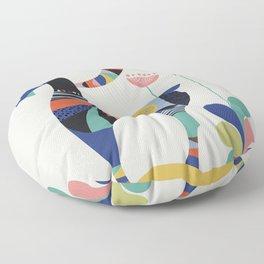 Mrs Goat Floor Pillow