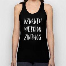 Azarath Metrion Zinthos Unisex Tank Top