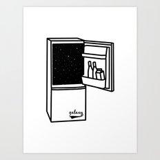 Space Refrigerator  Art Print