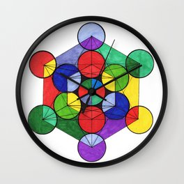 Metatron Wall Clock