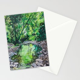 Peridot River Stationery Cards