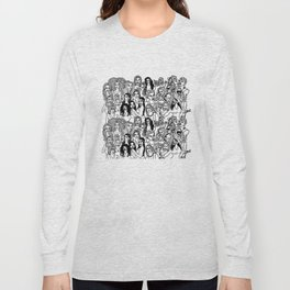 Real Housewives Pt.1 and 2 combined Long Sleeve T-shirt