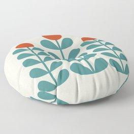 Scan. Flowers  Floor Pillow