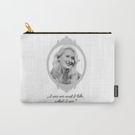 Madeline Ashton- Death Becomes Her/ Meryl Streep Carry-All Pouch