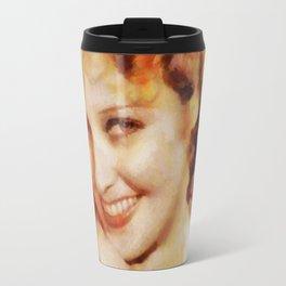Jeannette Macdonald, Vintage Hollywood Actress Travel Mug
