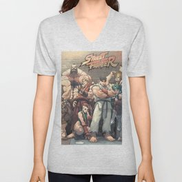 Street Fighter Unisex V-Neck