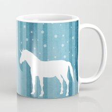 Winter Falls Unicorn Mug