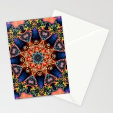 BBQSHOES: Kaleidoscopic Fractal Digital Art Design 1702K Stationery Cards