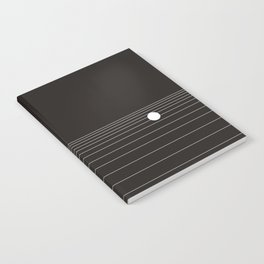 Calm water Lake Moon Minimal Notebook