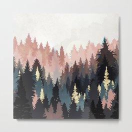 Spring Forest Light Metal Print